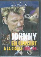 "DVD  -  JOHNNY HALLYDAY   "" JOHNNY EN CONCERT A LA CIGALE/DEC. 06 "" - - Concert & Music"