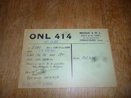 BC10-2-0-2 Carte Radio Amateur Belgique Flémalle Grande - Radio & TSF
