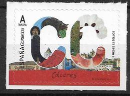 2017 Spanien Mi 5137 **MNH   Provinzen: Cáceres - 2011-... Unused Stamps