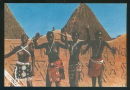 Senegal. Dakar. *Ballerine Indigene* Ed. Stampa Microlito. 106x157 Mms. Escrita. - Senegal