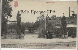 75 - TOUT PARIS 12 - #289 - Halles Au Vins - Rue De Dijon - Entrée Des Entrepôts De Bercy ++++ F. Fleury ++++ 1909 - Arrondissement: 12