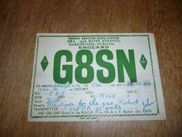 BC10-2-0-2 Carte Radio Amateur Darlington Durham England - Radio & TSF