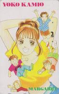 Télécarte Japon / 110-011 - MANGA - MARGARET By YOKO KAMIO - ANIME Japan Phonecard - BD COMICS TK - 10099 - Comics