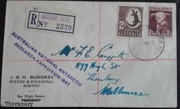 AAT ANARE 1947 Macquarie Island   March 7 1948 - Brieven En Documenten