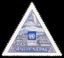 Nepal, 1956, Admission To The United Nations, MNH, Michel 97 - Nepal