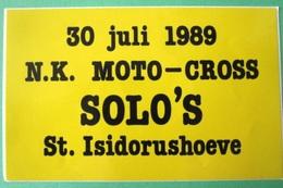NK MOTOCROSS - Autocollant Sticker Decal Adhesivo - Moto Motor Motorcycle Motard Cross Motorcross - Autocollants