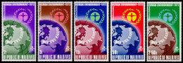 Maldive Islands, 1972, World Environmental Conference Stockholm, United Nations, MNH, Michel 425-429A - Maldives (1965-...)
