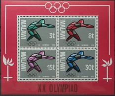 Malawi, 1972, Olympic Summer Games Munich, Sports, MNH, Michel Block 28 - Malawi (1964-...)