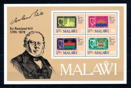 Malawi, 1979, Rowland Hill, UPU, Stamps On Stamps, United Nations, MNH, Michel Block 56 - Malawi (1964-...)