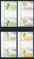 Malawi, 1981, FAO, World Food Day, United Nations, MNH Gutter Pairs, Michel 364-367 - Malawi (1964-...)