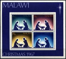 Malawi, 1967, Christmas, Religion, MNH, Michel Block 9 - Malawi (1964-...)