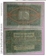 10 Mark Reichsbanknote Berlin 6/2/1920 - D - Serie K - 481839 - [ 3] 1918-1933 : Weimar Republic