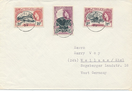 ST. HELENA  - 1960 , Brief Nach Kiel - St. Helena