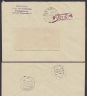 Germany East DDR ZKD-Brief B21AI Magdeburg Eisen- Und Stahlhandel 1958 - DDR