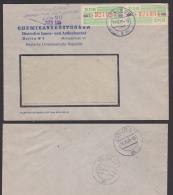 Germany East DDR ZKD-Brief B24L(2) Berlin O17 Chemieausrüstungen DIA 1989 - DDR