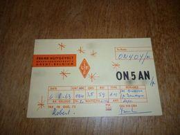 BC10-2-0-3 Carte Radio Amateur Gent Ghent Frank Huygevelt - Radio & TSF