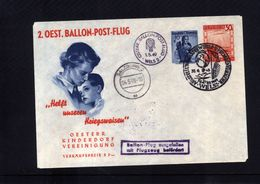 Austria / Oesterreich 1949 Ballonpost Interesting Cover - Balloon Covers