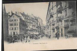 Suisse VD LAUSANNE Rue Centrale  Dos Non Divisé...G - VD Vaud