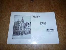 BC10-2-0-3 Carte Radio Amateur Malines Mechelen - Radio & TSF