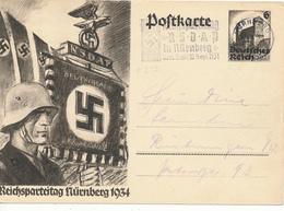 NÜRNBERG - 1934 , NSDAP Reichsparteitag - Allemagne
