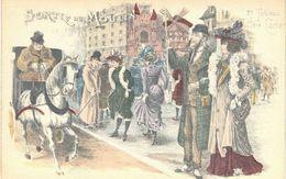 Carte Postale Ancienne De MOULIN ROUGE - Illustrateurs & Photographes