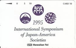 HAWAII - 1995 International Symposium Of Japan-America(PT 36), Tirage 2000, Mint - Hawaii