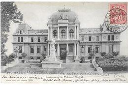 Suisse VD LAUSANNE Le Tribunal Fédéral...G - VD Vaud