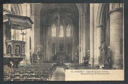 +++ CPA - HASSELT - Eglise St Quentin - Intérieur   // - Hasselt