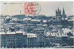 Suisse VD LAUSANNE En Hiver..G - VD Vaud