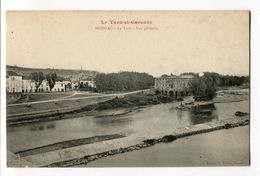 Ref 200 - MOISSAC - Le Tarn - Vue Générale - Moissac