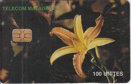 MADAGASCAR - Orchid, Used - Madagascar