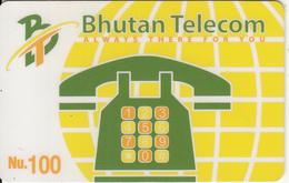 BHUTAN - Always There For You, Bhutan Telecom First Issue Nu.100, Used - Bhutan