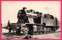 Locomotive De L'Est - Machine Tender 151.762 à Surchauffeur Duchâtel Mestre - 3 Cylindres égaux - Cliché H. FOHANNO - Trains