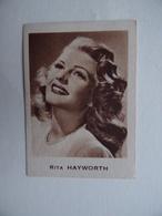 1 CHROMO N° 53 Rita HAYWORTH CHOCOLAT KWATTA - Andere