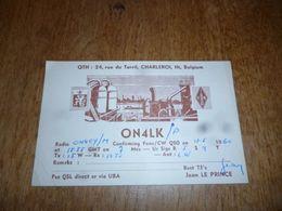 BC10-2-0-3 Carte Radio Amateur Charleroi Jean Le Prince - Radio & TSF