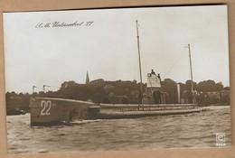 Foto AK S.M. Unterseeboot 22 Ca. 1915 - Guerre 1914-18