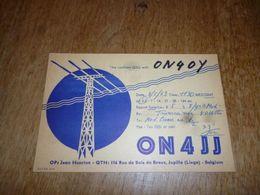 BC10-2-0-3 Carte Radio Amateur Jupille Jean Henrion - Radio & TSF