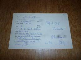 BC10-2-0-3 Carte Radio Amateur Saint-Nicolas En Foret Mr Sauve Timbre QSL - Radio & TSF