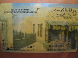 Telecarte Du Koweit - Kuwait
