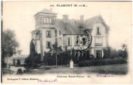 54 BLAMONT - Chateau Saint-Pierre - Blamont