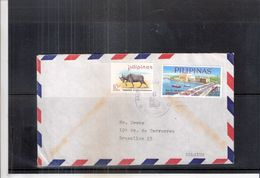 Letter From Pilipinas To Belgium  (to See) - Philippines