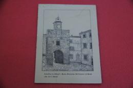 Castellina In Chianti Siena La Porta Fiorentina Disegno G. Barni 1941 - Siena