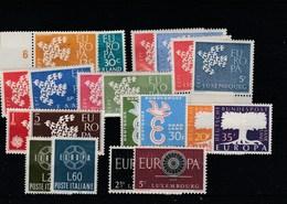 EUROPA - 10 PAIRES DIFFERENTES  NEUFS - Europa-CEPT
