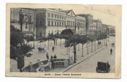 BARI - CORSO VITTORIO EMANUELE   VIAGGIATA FP - Bari