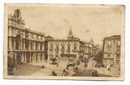 CATANIA - PIAZZALE DEGLI STUDI E VIA ETNEA - VIAGGIATA  FP - Catania