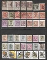 Set Preo-obliteré - Voorafgestempeld Buzin (Sans Gomme - Zonder Gom) - Precancels