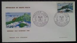 HAUTE-VOLTA - FDC 1967 - YT N°184 - Jeux Olympiques De Grenoble / Sport - Opper-Volta (1958-1984)