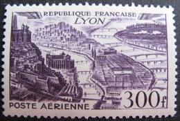 Lot FD/632 - 1949 - POSTE AERIENNE - N°26 NEUF* - Cote : 14,00 € - Poste Aérienne