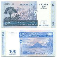 Madagascar 100 Ariary 2004 Pick 86.a UNC - Madagascar