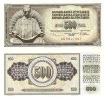 Yugoslavia 500 Dinara 1978 Pick 91.a UNC - Yugoslavia